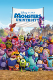 Monsters University One Sheet Pósters