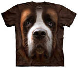 Youth: St Bernard Face Shirts