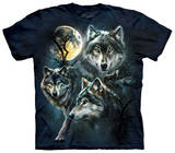 Youth: Moon Wolves Collage T-skjorter