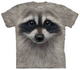 Youth: Raccoon Face T-shirts
