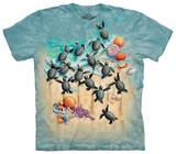 Youth: Green Turtle Hatchlings Shirts