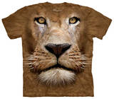 Youth: Lion Face T-Shirts