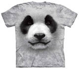 Youth: Big Face Panda T-shirts