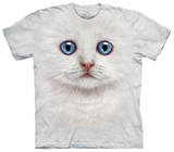 Youth: Ivory Kitten Face T-shirts