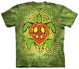 Youth: Rasta Peace Turtle T-shirts