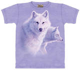 Youth: Graceful White Wolf T-Shirt