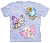 Youth: Butterfly Kitten Fairies Koszulki