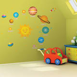 Solar System Wall Sticker Decal Wall Decal