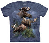 Youth: Moose Collage Shirt