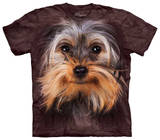 Youth: Yorkshire Terrier Face T-shirts