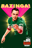 The Big Bang Theory Bazinga Posters