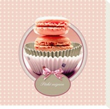 Macarons Stretched Canvas Print by Patrick Durand