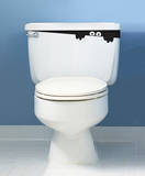 Toilet Monster sticker Wall Decal