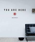 Antoine Tesquier Tedeschi - You Are Here sticker Lepicí obraz na stěnu