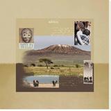 Kilimandjaro Stretched Canvas Print by Patrick Durand