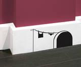 Antoine Tesquier Tedeschi - Mickey House sticker Lepicí obraz na stěnu