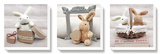 Mon lapin Reproduction transférée sur toile par Amelie Vuillon