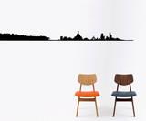 Brazil Skyline sticker Vinilo decorativo por Antoine Tesquier Tedeschi