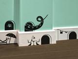 Antoine Tesquier Tedeschi - Mickey Pack Stickers - Duvar Çıkartması