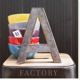 Factory Stretched Canvas Print by Amelie Vuillon