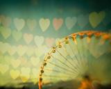 Fairground Hearts Reproduction procédé giclée par Irene Suchocki