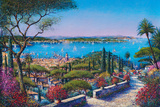 Saint-Tropez Giclee Print by Guy Dessapt