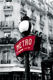 Paris Metro Giclee Print by Joseph Eta