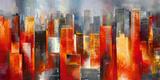 Metropolis Vista I Giclee Print by Georges Generali