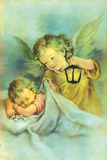 Angelic Slumber I Giclee Print by  The Victorian Collection