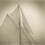 Sails of Friendship Sloop Reproduction procédé giclée par Michael Kahn