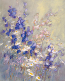 Impression de Fleurs Giclee Print by Genevieve Dolle
