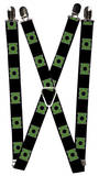 Green Lantern - Logo Suspenders Novelty