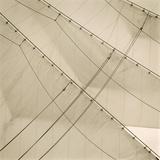 Head Sails of a Tall Ship Reproduction procédé giclée par Michael Kahn