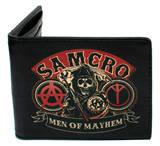 SAMCRO - Men of Mayhem Logo Leather Wallet Wallet