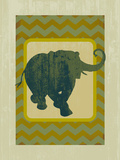 Earth Elephant Giclee Print by Ken Hurd