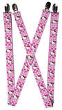 Hello Kitty - Dots & Hearts Suspenders Novelty