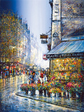 Rue du Bac Giclée-tryk af Guy Dessapt