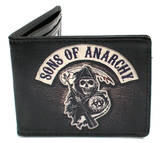 Sons of Anarchy - Patch Logo Leather Wallet Wallet