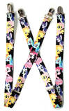 My Little Pony - Ponies Black Logo Suspenders Novelty