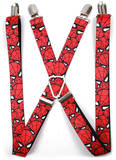 Marvel Comics - Spiderman Stacked Suspenders Novelty