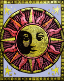 Aztec Sun - Opticz Cloth Fabric Poster                 Photo