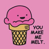 You Make Me Melt Giclée-trykk av Todd Goldman