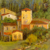 Tuscany Villaggio - Detail Giclee Print by  Longo