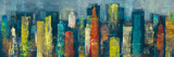 City Towers II Giclee Print by Georges Generali