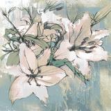 Painted Lilies II Giclee Print by Ken Hurd