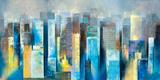 Metropolis Vista II Giclee Print by Georges Generali