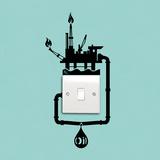 Antoine Tesquier Tedeschi - Oil Spill Reminder - Duvar Çıkartması