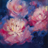 Pivoines Giclee Print by Genevieve Dolle