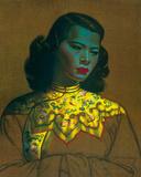 Kinesisk flicka Gicléetryck av Vladimir Tretchikoff