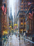 Wall Street Giclee Print by Guy Dessapt